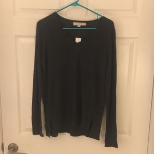 NWT Grey slouchy sweater from Loft!